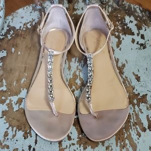 Jewel Badgley Mischka Sandals